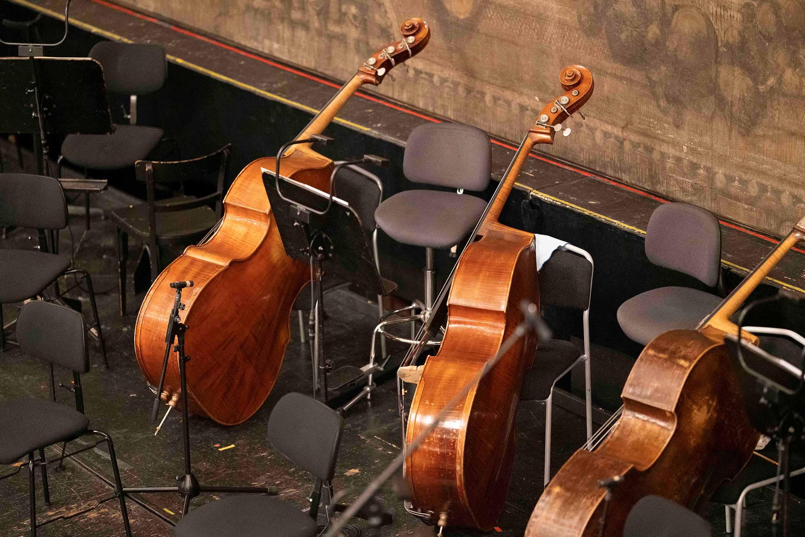 Aufnahme von Instrumente in der Grazer Oper für die neue Website von Sieglinde Feldhofer © Sara Sera