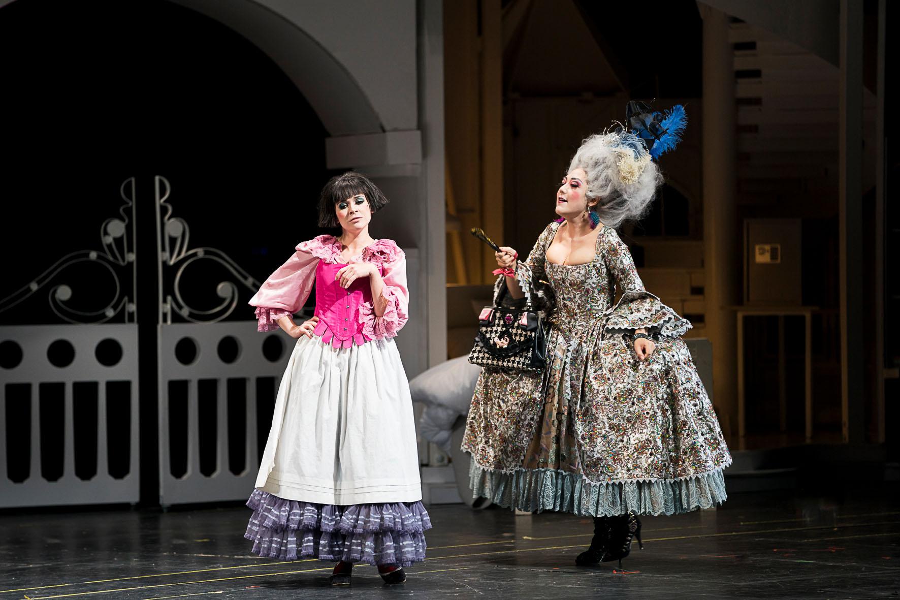 Sieglinde Feldhofer in die Hochzeit des Figaro in der Oper Graz © Werner Kmetitsch