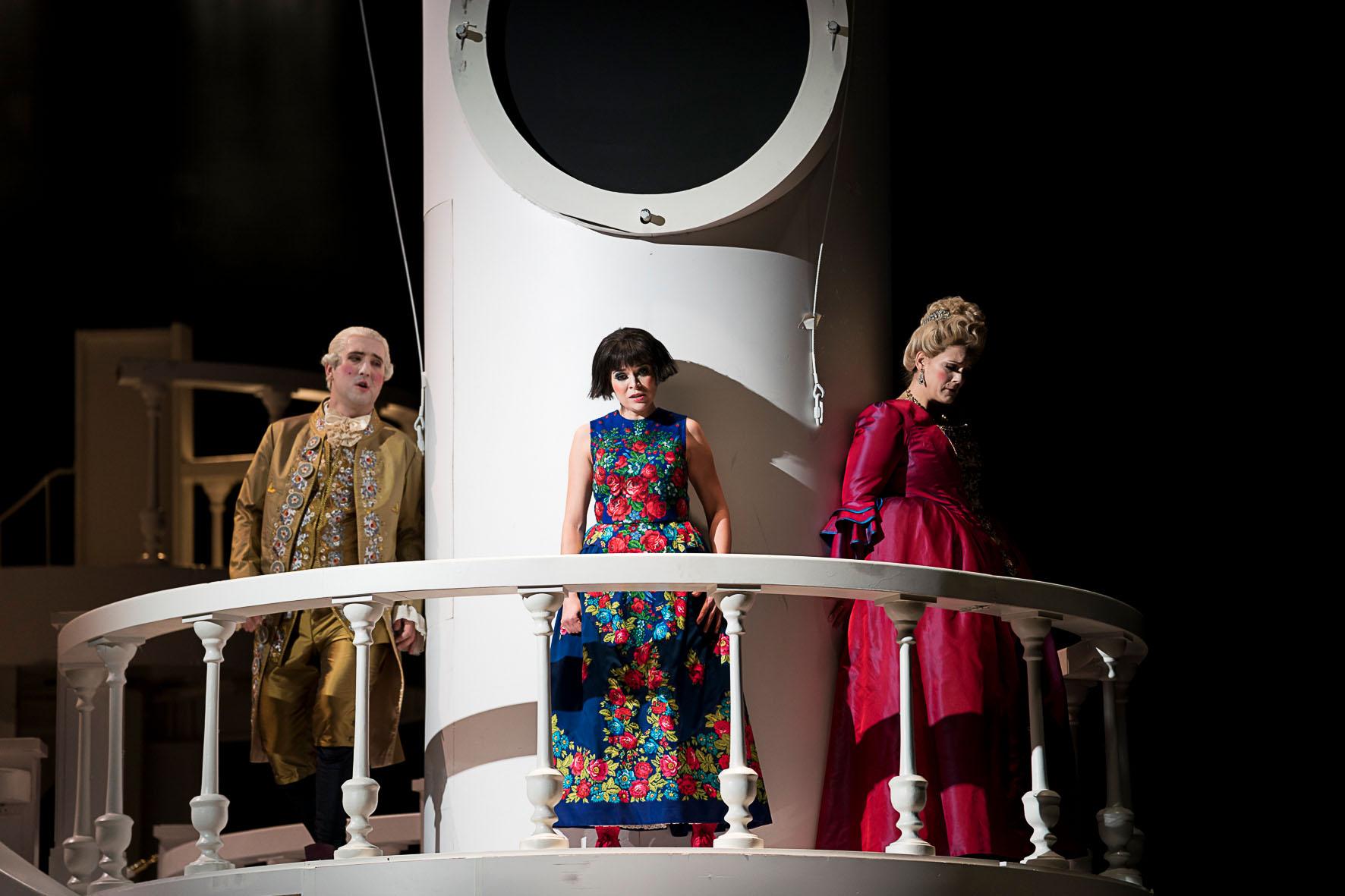 Sieglinde Feldhofer während ihrem Auftritt in Le nozze di Figaro in der Oper Graz © Werner Kmetitsch